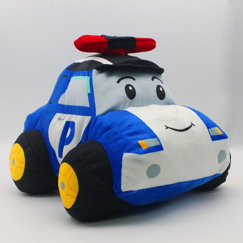 Cuddly Police Car Soft Toy ?- Fully Customisable Plush