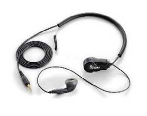 Icom HS-97 Earphone with Throat Mic.