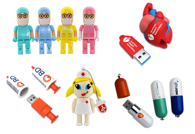 Medical USB Flash Drive, Memory Stick / Promotional Product Fully Customised To Your Requirement UK Supplier