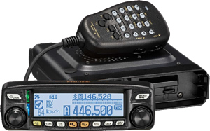 Yaesu FTM-100DE - NEW Digital Dual Band Mobile Transceiver