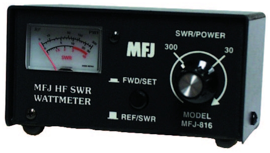 MFJ-816 Small Watt/SWR Meter for 1.8MHz to 30MHz