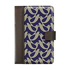 Orla Kiely Book Case Kindle Fire HD - Birdwatch Cream/Navy