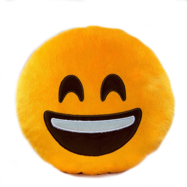 Cuddly Smiley Emoji ?- Fully Customisable Plush