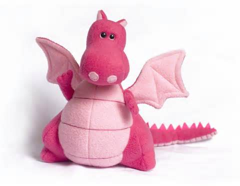 Penelope The Pink Dragon ? - Fully Customisable Plush