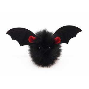 Fluffy Bat - Fully Customisable (Red Ears)