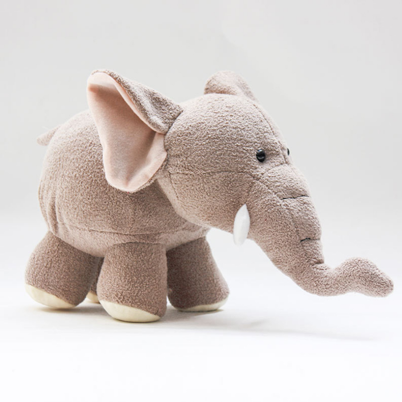 Cuddly Standing Elephant - Fully Customisable Plush