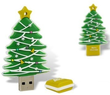 Christmas Tree USB Flash Drive Usb Stick, Pen Drive / Promotional product fully customized  to your requirement UK Supplier