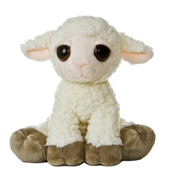 Cuddly Baby Lamb - Fully Customisable Plush