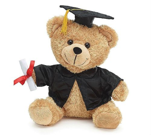 Cuddly Graduation Teddy Bear - Fully Customisable Plush