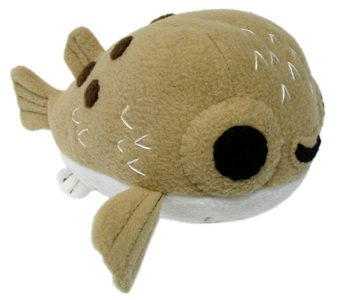 Cuddly Puffer Fish Soft Toy ?- Fully Customisable Plush