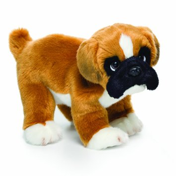 Cuddly Boxer Pup - Fully Customisable Plush