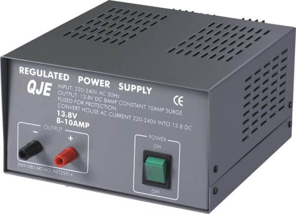 QJE QJ1863 (10-12AMP) LINEAR POWER SUPPLY UNIT