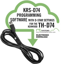 Kenwood TH-D74 Programming software KRS-D74