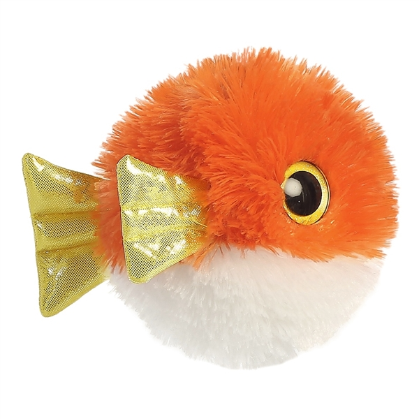 Cute Little Puffer Fish Soft Toy 2 ?- Fully Customisable Plush