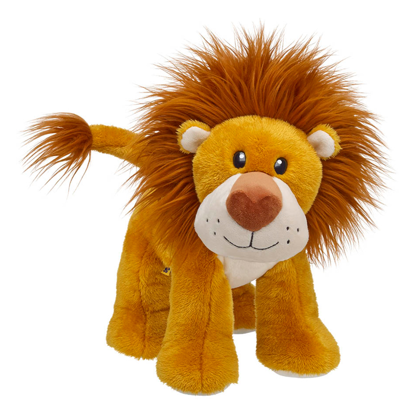 Cuddly Standing Lion - Fully Customisable Plush