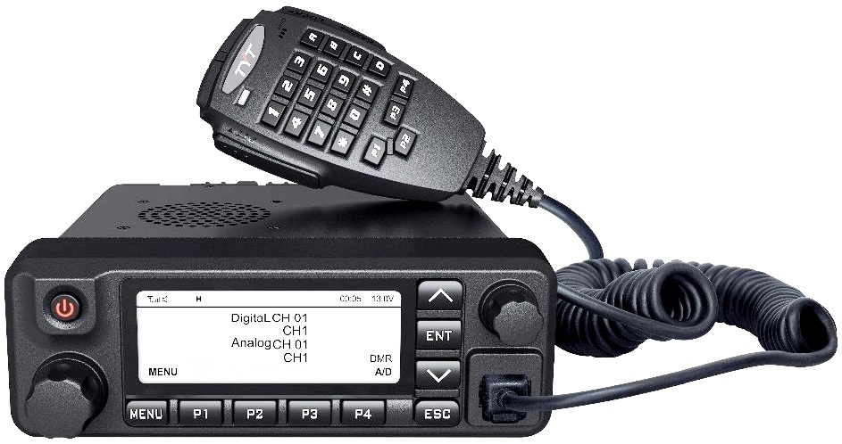 TYT MD-9600 GPS DUAL BAND DMR MOBILE TRANSCEIVER