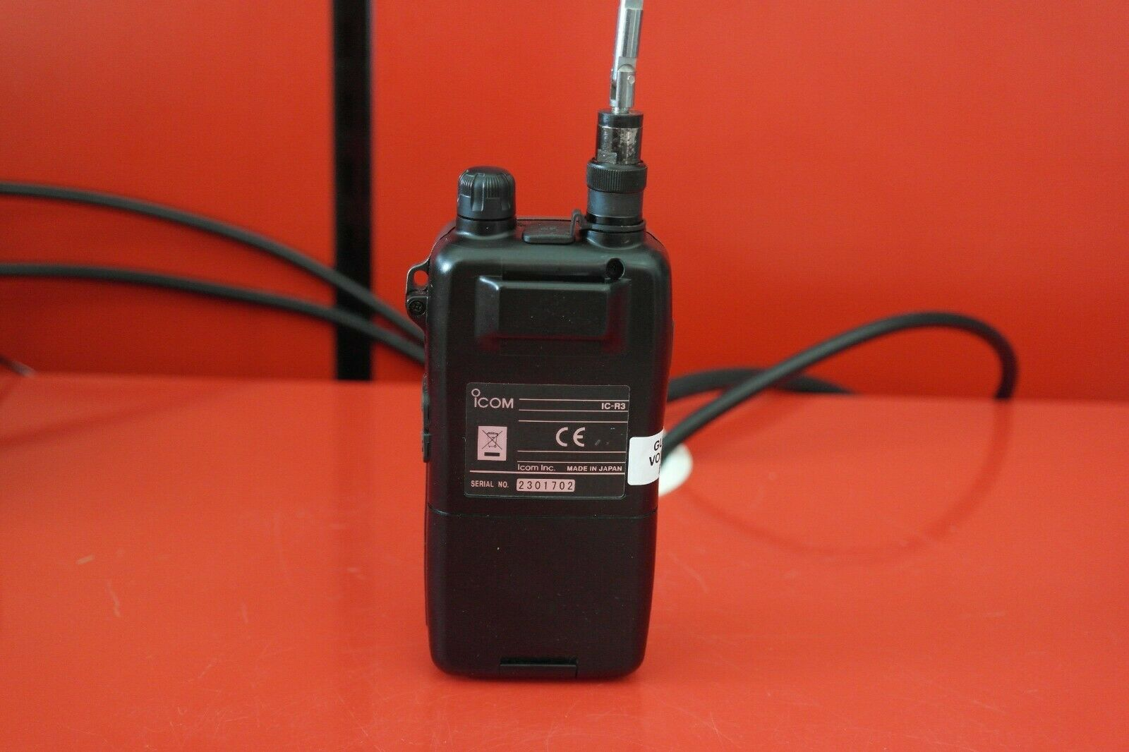 Second Hand Icom IC-R3 Handheld Scanner Receiver 6