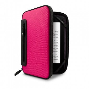 Marware Jurni Case for Kindle & Kindle Touch Pink & Black