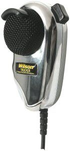 WILSON Black - chrome Dynamic Noise Cancelling Microphone,