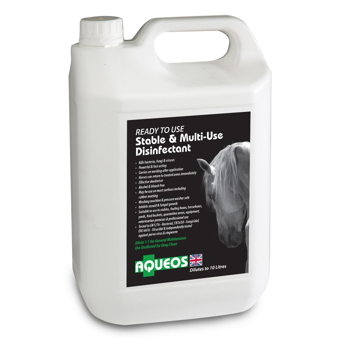 Ready to Use Stable & Multi-Use Disinfectant 5L AQE7005RTU