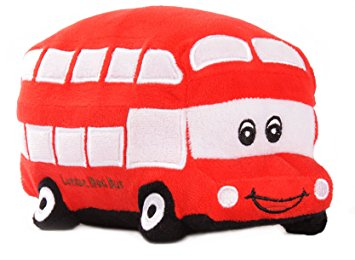 Cute London Bus Soft Toy ?- Fully Customisable Plush