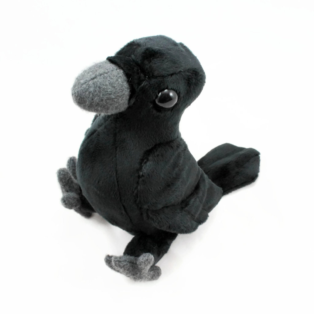 Cuddly Crow Soft Toy ?- Fully Customisable Plush