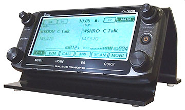 Icom ID-5100 Desktop Stand by Nifty!