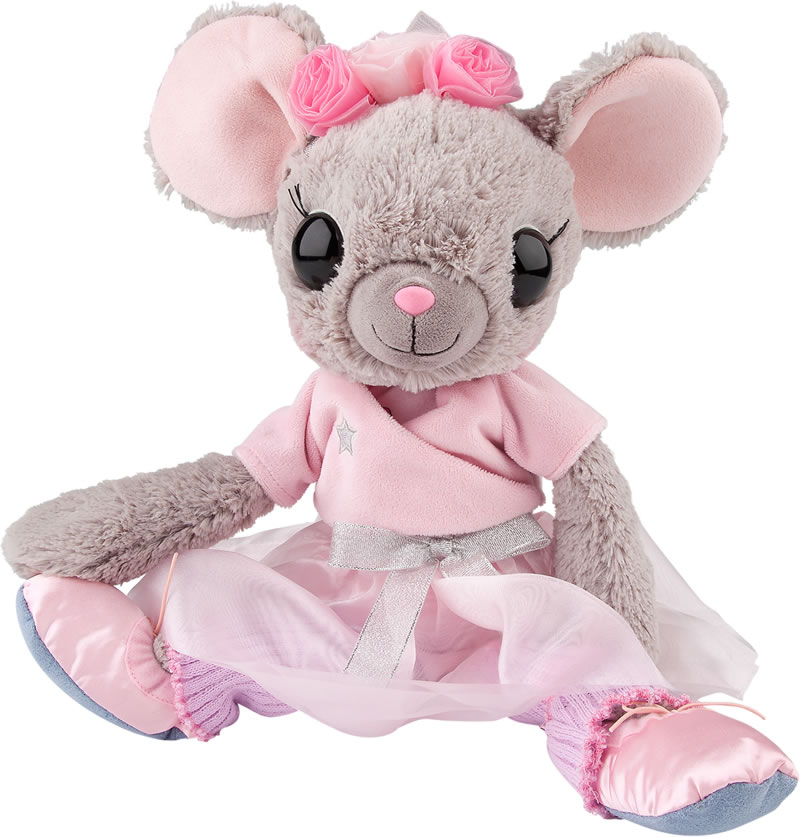 Ballerina Mouse Soft Toy ?- Fully Customisable Plush