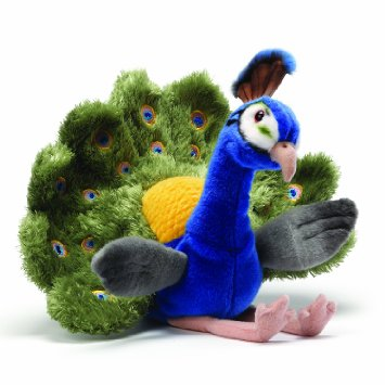 Cute Peacock - Fully Customisable Plush