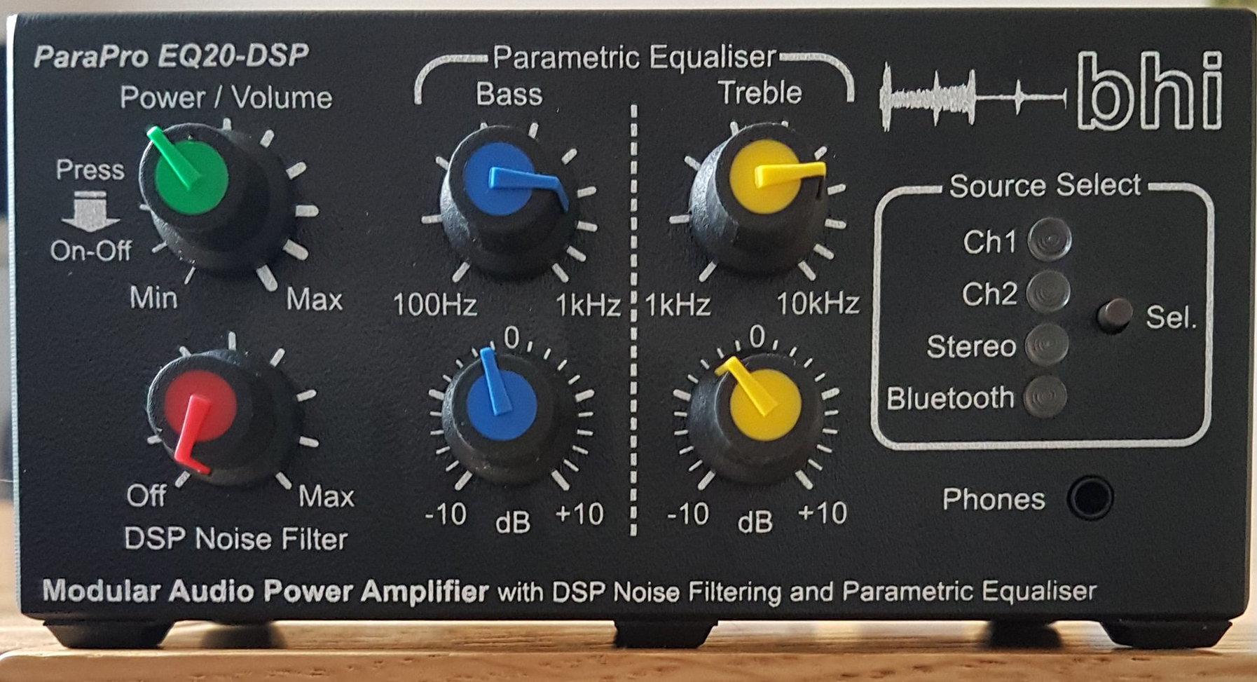 BHI ParaPro EQ20 Equaliser Series