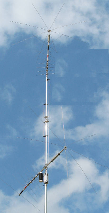 MFJ-1799 1/2 Wave, 10-Band 80 to 2 Meters Vertical
