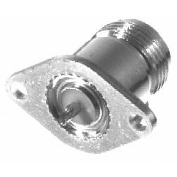 N-type Chassis Socket 2 Hole