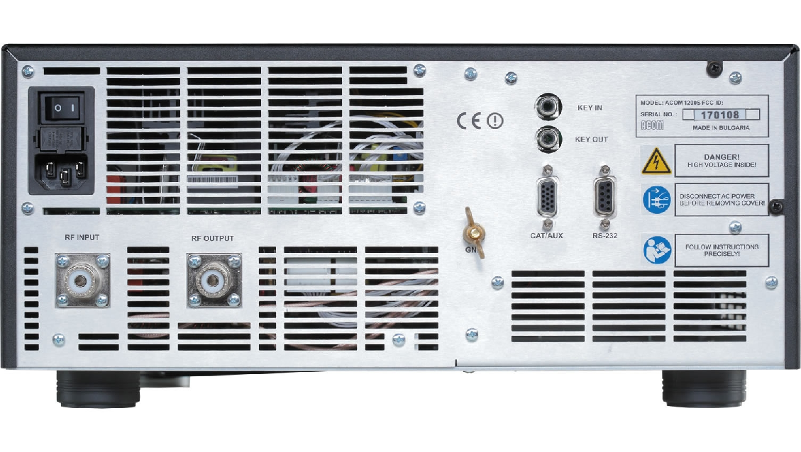 ACOM A1200S HF 1200 Watt Amplifier 2