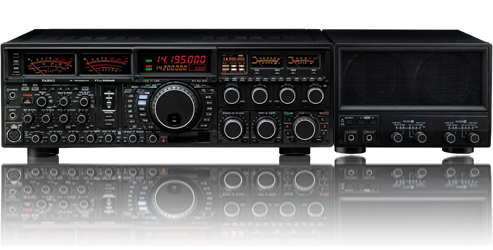 Yaesu FT-DX9000MP  400W transmission power