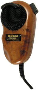 Wilson Wood Grain Noise Canceling Microphone