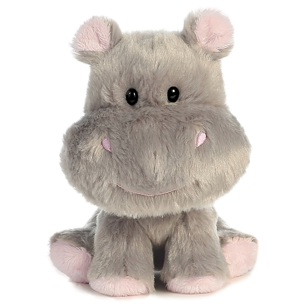 Cute Baby Hippo - Fully Customisable Plush