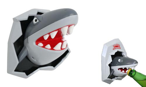 Magnetic Bottle Opener in the shape of a shark / Promotional product fully customized  to your requirement UK Supplier