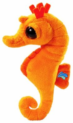 Cute Seahorse - Fully Customisable Plush