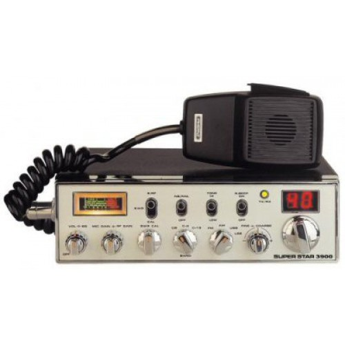SUPERSTAR 3900 RED Transceiver CB Mobile, CB/10meter, 4W AM/4W F