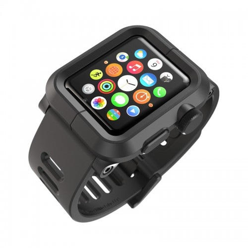 Lunatik Case and Strap for Apple Watch - Black