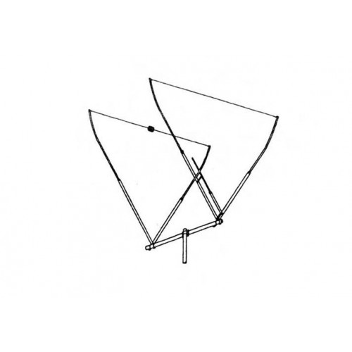 Maco V-QUAD Dual Beam 10/11 Meter Base Antenna