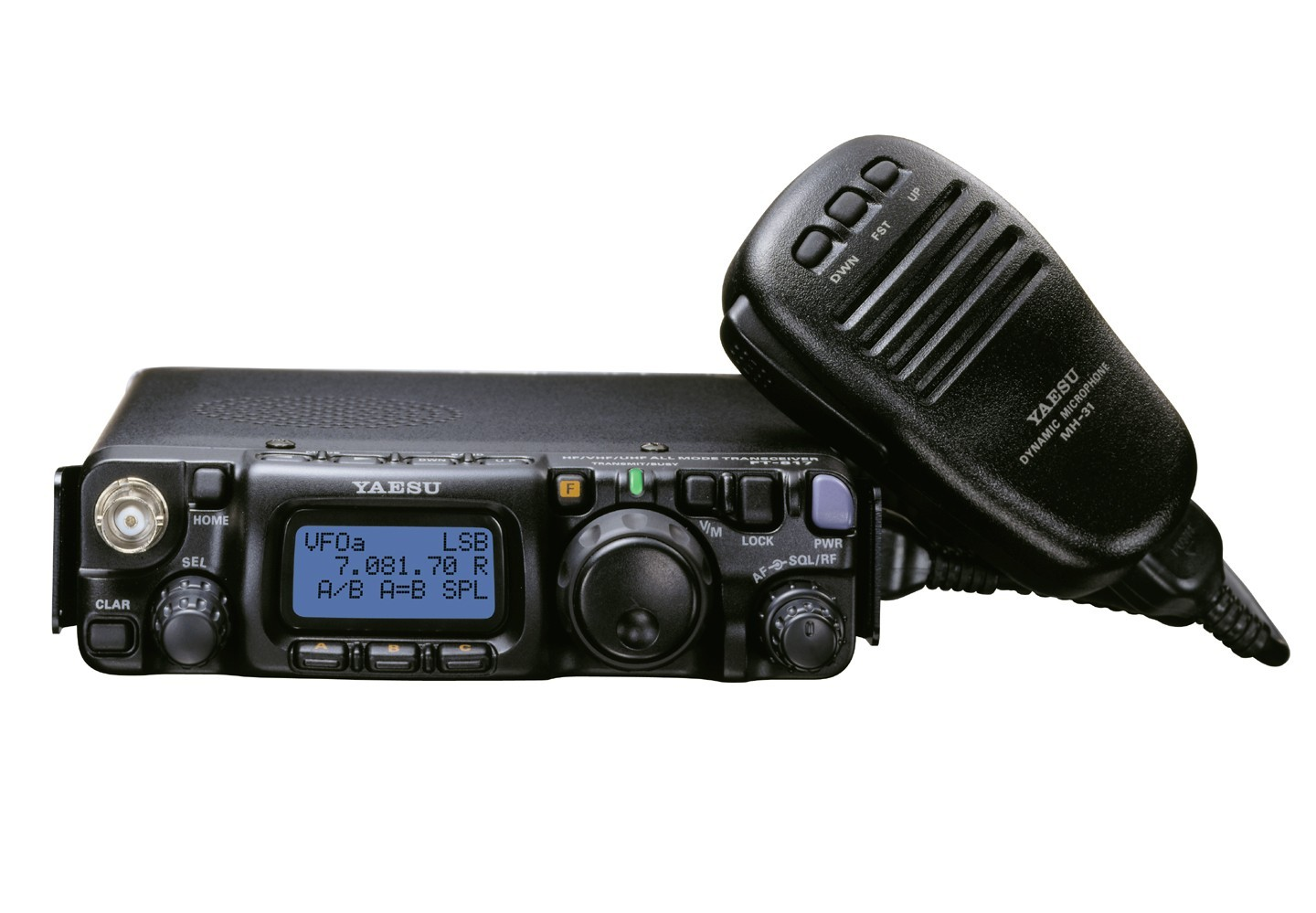 Yaesu FT-817ND - Portable HF-VHF- UHF Radio Transceiver