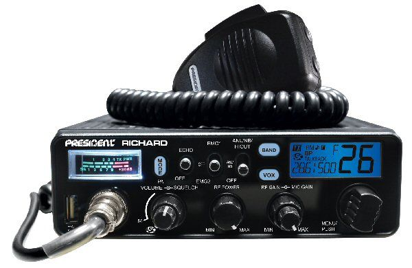 President RICHARD 10 Meter Mobile Transceiver
