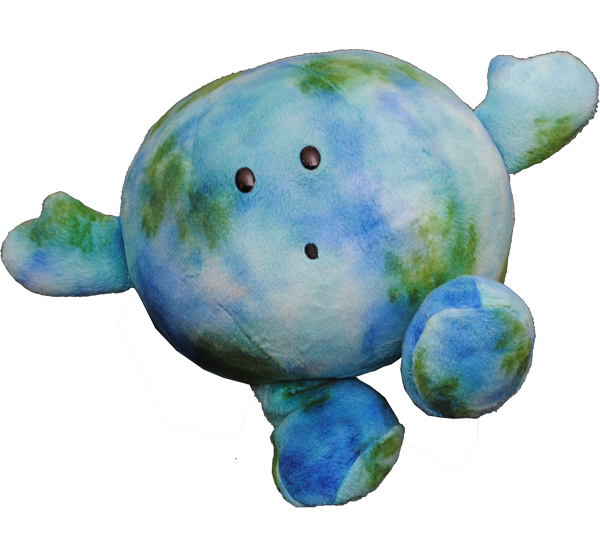 Planet Earth Soft Toy - ?Fully Customisable Plush