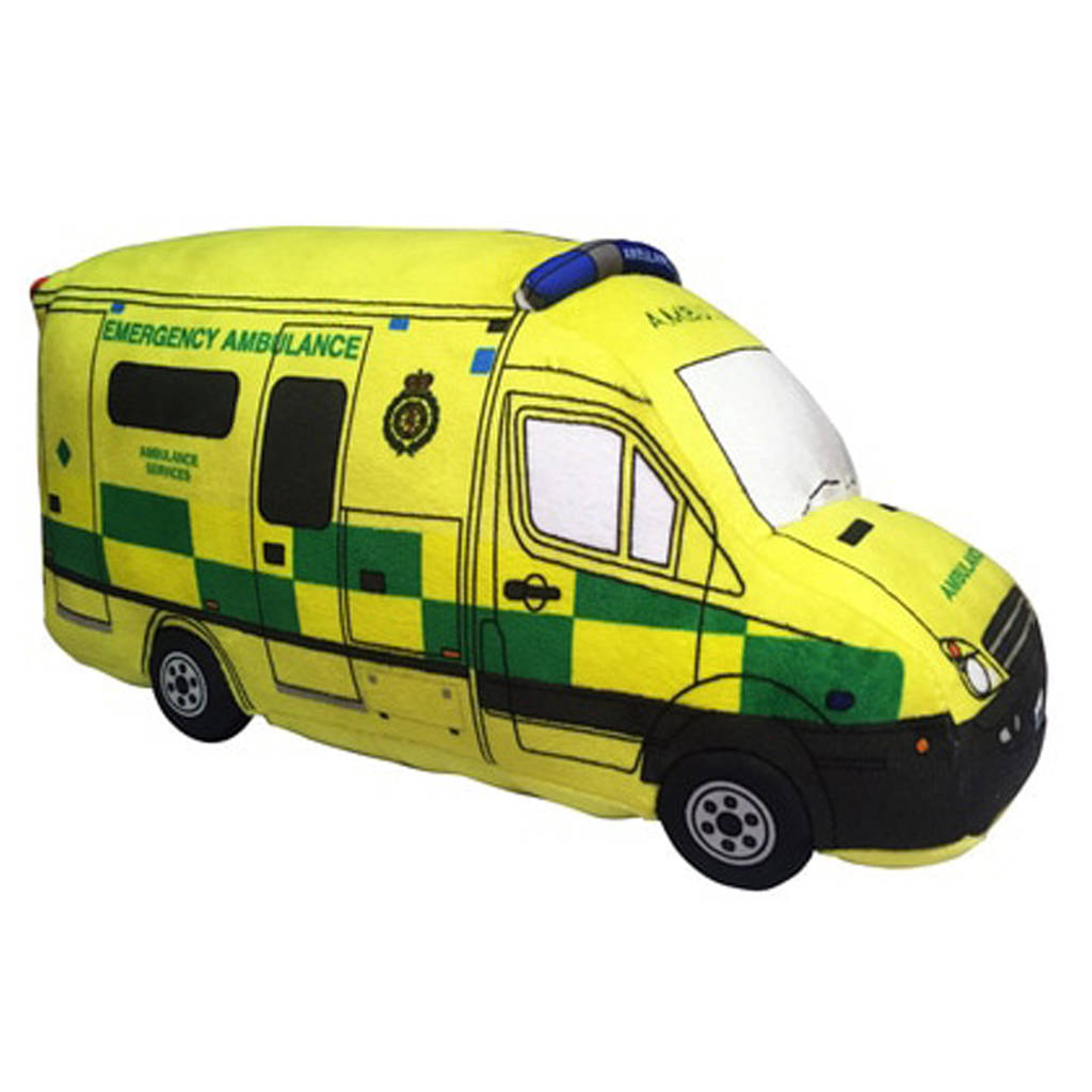 Cuddly Ambulance Soft Toy ?- Fully Customisable Plush