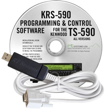 KRS-590 Software and USB-63 for the Kenwood TS-590S and TS-590SG