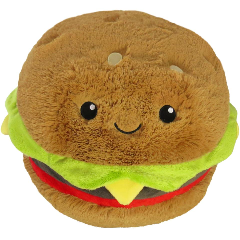 Cuddly Hamburger Soft Toy - ?Fully Customisable Plush