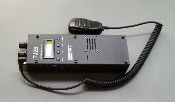 YouKits TJ2B HF SSB CW Handheld Transceiver - Latest Version