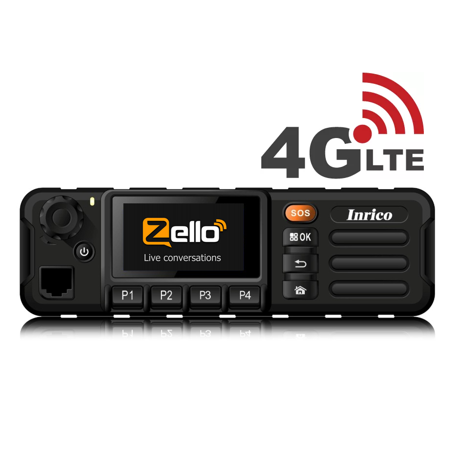 INRICO TM-7 PLUS 4G/WIFI NETWORK MOBILE RADIO 4G