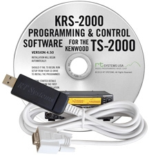 KRS-2000 Software and USB-63 for the Kenwood TS-2000